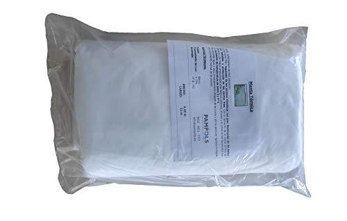 PAMPOLS Malla Térmica Manta Anti Heladas Protección contra el Frío para Frutales y Plantas de Exterior Cultivos o Huerto | Funda Plástico Protector para Viento Control de Plagas | 4,1x12m (49,2 m2)