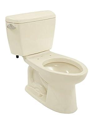 TOTO CST744E#03 Drake Two Piece Toilet, Bone