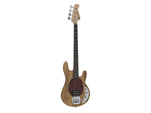 Dimavery 26222065 Electric Bass Guitar mm-501 E-Bass, Nature