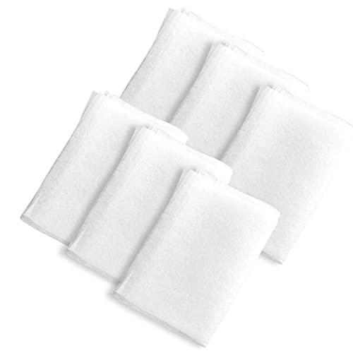 Liadance Dunstabzugshaube Filter, Dunstabzugshaube Papier, Dunstabzugshaube Aufkleber, Anti Smoke Filter Absorbieren Non Woven Stoff Papier Anti Ölschwaden Aufkleber Für Küche 6pcs