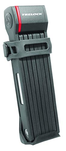 Trelock Unisex– Erwachsene FS 280 Two.Go XMove 100 Faltschloß, schwarz, 1000mm