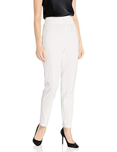 Calvin Klein Damen Women's Fashion Waist Pant Businessanzughosen-Set, cremefarben, 42