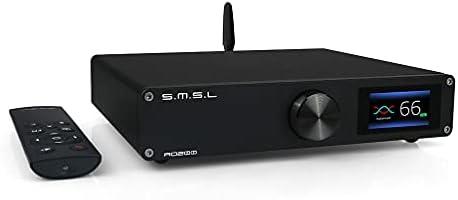 SMSL AO200 高品質デジタルアンプ 150W×150W パワーアンプ Bluetooth5.0 低遅延 AMP MA12070×2チップ USB/BT/XLR/RCA入力2チャンネル HiFiデスクトップホームオーディオアンプ...