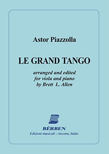 Astor Piazzolla-Le Grand Tango-Viola und Klavier-BOOK