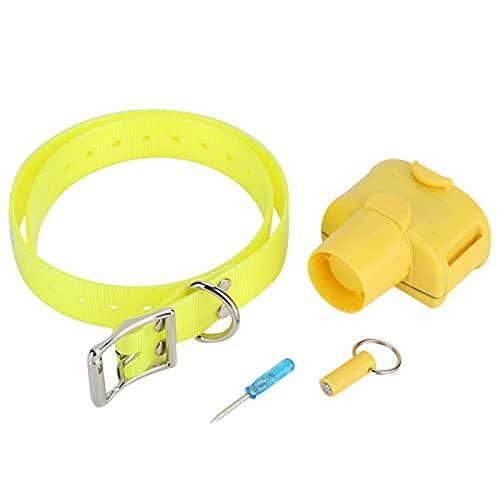 FOLOSAFENAR Collar de Entrenamiento de Perro Inductor Incorporado Collar de Caza de Beeper Incorporado Collar de Caza de Entrenamiento, para Entrenamiento de Perros