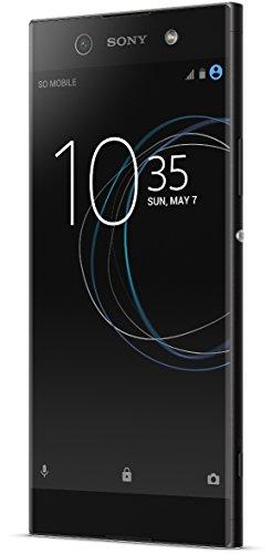 Sony Xperia XA1 Ultra Smartphone (15,3 cm (6 Zoll) Bildschirm, 32 GB Speicher, Android 7.0) Schwarz