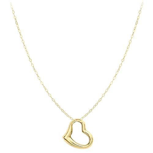 Carissima Gold Collana con Pendente da Donna Oro Giallo 9K (375)