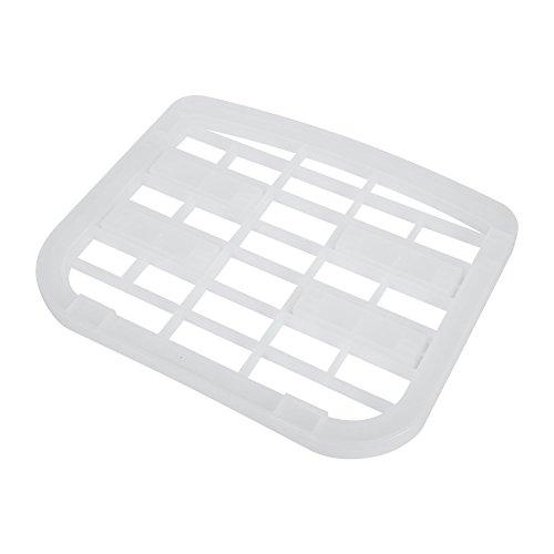 Plat à vaisselle, Sous l'évier Plateau à vaisselle Plat à ranger Organisateur Titulaire Tablette Cuisine Rangement de salle de bain Plastique