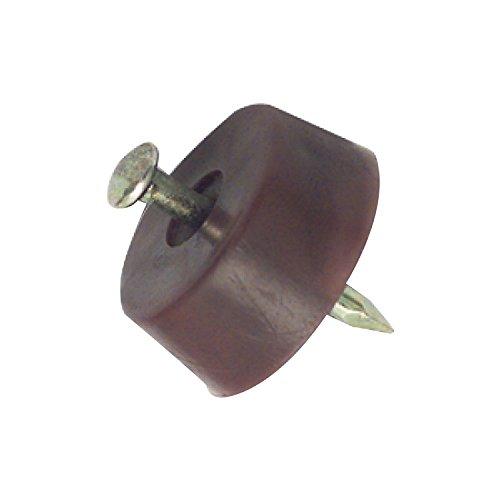 Secotec 105033015 Bodenträger abgeflacht 15mm zum Nageln braun 60 Stück