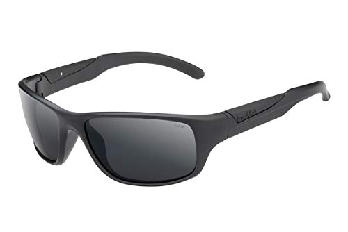 bollé Unisex– Erwachsene Vibe Sonnenbrillen Medium, Black Matte