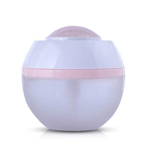 XINGFUQY 500ml USB Air Humidificateur Purificateur Aroma Diffuseur de Vapeur for la Maison à ultrasons aromathérapie Diffuseur Mist Marque avec LED 7 Lampe Couleur (Capacity : 500ml, Color : D)