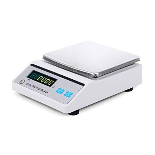 ZNND Digitale weegschaal, 0,001°g, LCD-scherm, hoge precisie, elektronisch, industrieel, sieraden, goudkleurig, 100 g, multifunctioneel