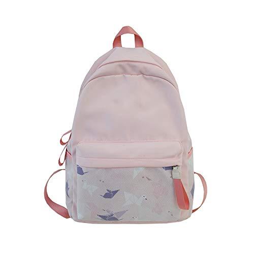 Women's Backpack Bag Nylon Canvas Rucksack 14-15 inch Laptop Travel School Bags