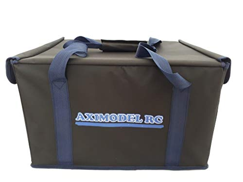 Upgraded RC Car Bag for RC 1/10, 1/14 Monster Trucks, Buggies, Cars. Easily Store or Transport Your RC Car in This Bag! Hard Wall, Bottom & Top! Hard Case, Medium Size