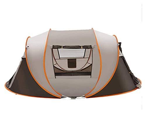Tienda de campaña para Camping al Aire Libre Pop Up Sun Shelter Professional Impermeable A Prueba de Viento Poss Prueba UV Protección contra el Transporte (Color : Brown)