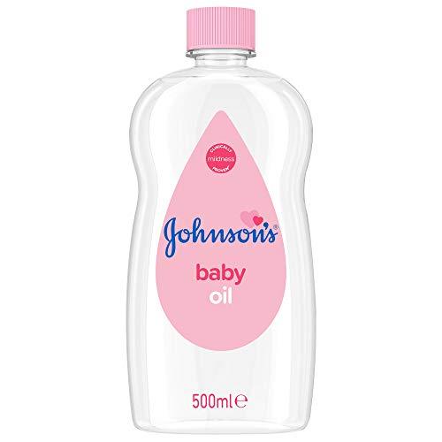 JOHNSON'S - Baby Oil, (1 X 500 ML)
