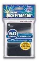Ultra Pro Deck Protector Sorcerer Black (small) (81594) - Sammelkartenzubehör Jap. Größe
