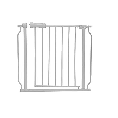 Puerta de seguridad para bebés ajustable Valla de la puerta Escalera a través de la caminata Para niños pequeños Niños Mascotas-ESPAÑA, Puerta