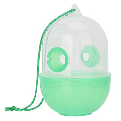 Dispositivo de trampa para moscas Colector de plagas Asesino Insecto Hornet Dispositivo de campamento Vuelo al aire libre Avispa colgante Botella de trampa