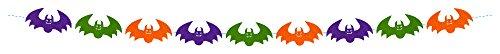 Rubie's - Guirnalda murciélagos fieltro, 2 m (S4334)