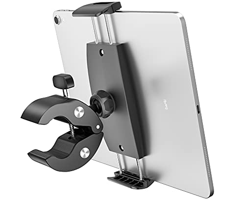 Tryone Supporto Tablet Cyclette Spinning Bicicletta - Universale porta per 4.7~13' Tablet come iPad Pro 9.7, 10.5, 12.9, iPad Air 2 3 4, iPad mini 2 3 4, iPhone, Samsung Tab, Altri Tablets