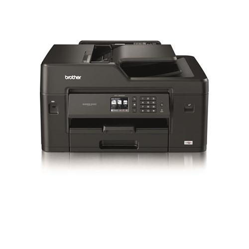 Brother Color de inyección de Tinta de la Impresora multifunción con conexión de Cable y 20ipm inalámbrica A3 Negro/Plata Ref MFCJ6530DWZU1 162983