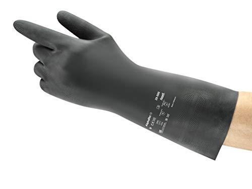 Ansell AlphaTec 29-500 Neopreno Guante contra productos químicos, Tamaño 7 (12 Pares)