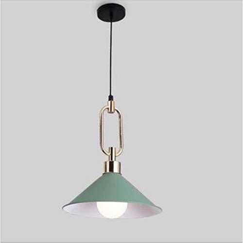 Zoe home Moderne Eisen 4 Farbe Kronleuchter E27 LED-Lampen Mode Kronleuchter Kreative führte Glanz Kronleuchter Beleuchtung (Color : Green)