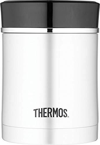 THERMOS 4005.205.047 Speisegefäß Premium, Edelstahl mattiert 0,47 l, Spülmaschinenfest, 7 Stunden heiß, 9 Stunden kalt