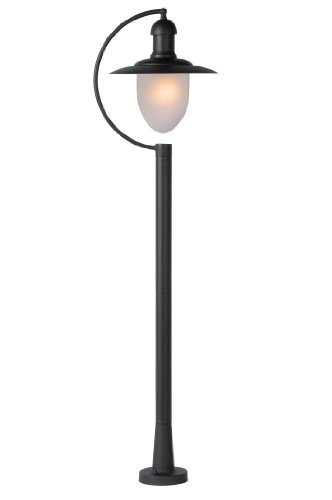 Lucide ARUBA - Lanterne / Lampadaire Exterieur Extérieur - IP44 - Noir