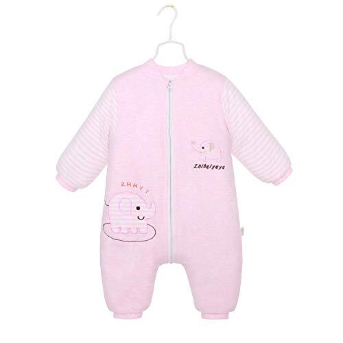 Deken katoenen slaapzak, baby gespleten voet type, anti-kick quilt met lange mouwen-green_80 yards, voor 0-12 maanden baby