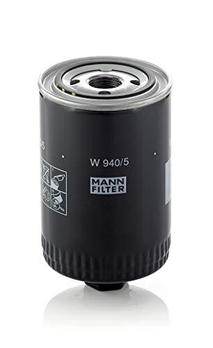 Original MANN-FILTER Ölfilter W 940/5 – Hydraulikfilter – Für PKW und Nutzfahrzeuge