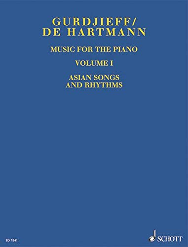 Music for the Piano: Asian Songs and Rhythms. Vol. 1. Klavier.