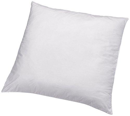 AmazonBasics Kissen mit Schnürung, Bezug: 100% Baumwolle, 80x80 cm, 2er-Set
