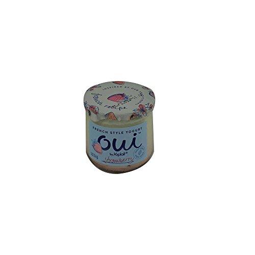 Oui by Yoplait French Style Strawberry Yogurt, 5 Ounce -- 8 per case.