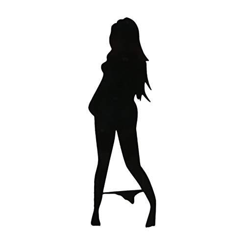 Tree-on-Life Sexy Girl Striptease Auto Motorrad Aufkleber, die den Körper der Mode Vinyl Decals Car Styling Autozubehör abdecken