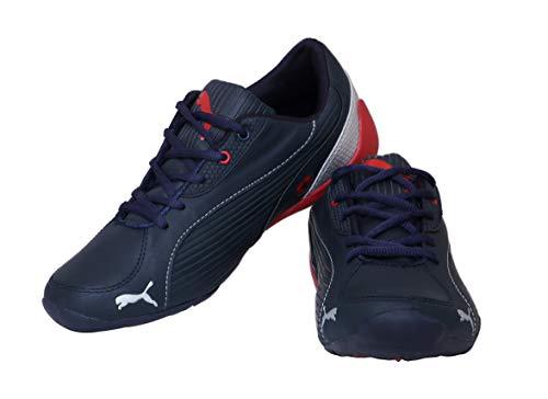 Glacier Men's Black & Red Running Shoe - 10 UK