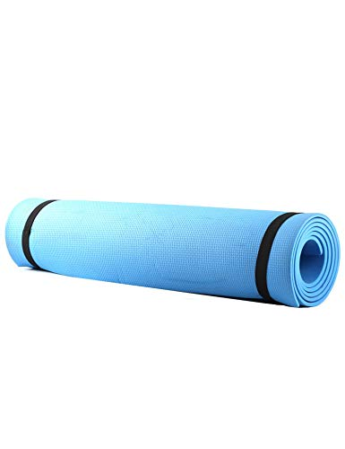 Stonecock Eco Friendly Non Slip TPE Yoga Mat Yoga Mats Yuga Mat for Blue, 69