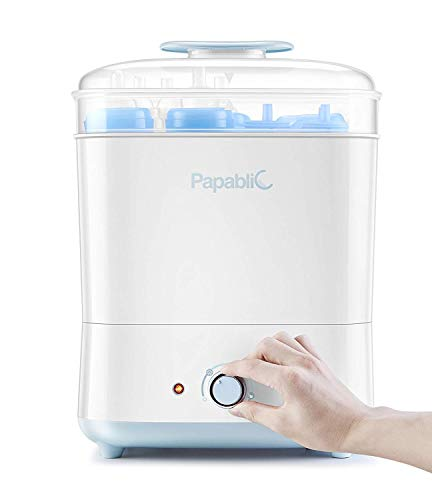 Papablic Baby Bottle Eletric Steam Sterilizer and Dryer