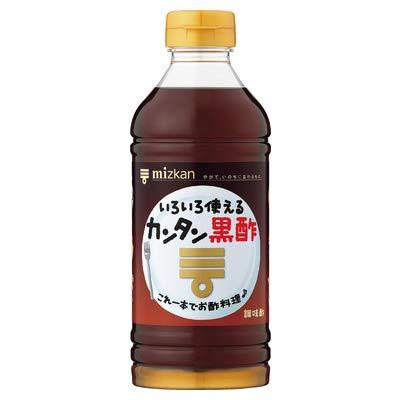 ミツカン カンタン黒酢 500mlペットボトル×12本入