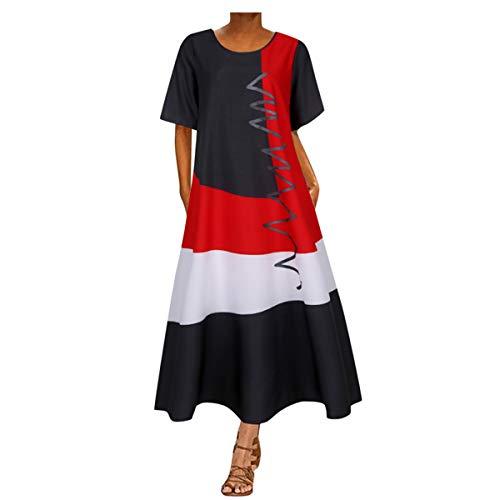 Abiballkleider Lang MTB Bekleidung Herren Rosa Kleider Damen Puppenkleidung 46 cm Kleid Damen Sommer Lang Netzkleid Kurze Kleider Damenkleider Elegant Schicke Sommerkleider Party(Grau,5XL)