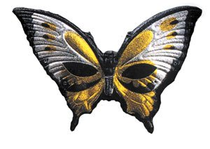 Cesar - E100858 - Loup - Papillon Métallise - Jaune