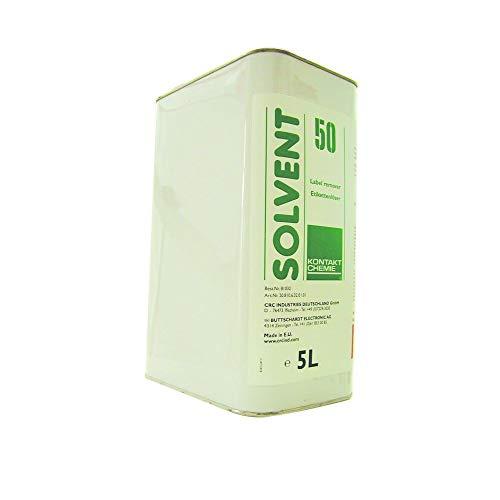 KONTAKT CHEMIE 81027 Solvent 50 Etikettenlöser, 1.000 ml