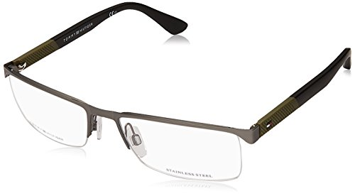 Tommy Hilfiger TH 1562 R80 56 Gafas de sol, Gris (Smtt Dkruthe), Hombre
