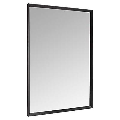 "AmazonBasics Rectangular Wall Mirror 30x40"""