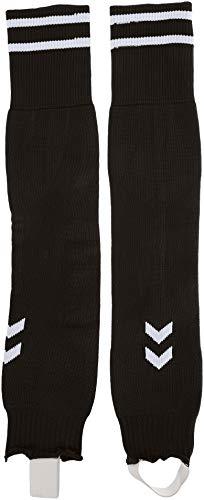 Hummel Element Football Sock Footless, Schwarz/Weiß, 2
