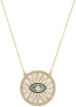RACHEL Rachel Roy Evil Eye Sun Disc Protection Pendant Necklace for Women Fashion Jewelry product image
