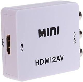 ميني بوكس محول فيديو اتش دي من اتش دي ام اي الى ايه في، بوضوح 1080 بكسل، HDMI2AV