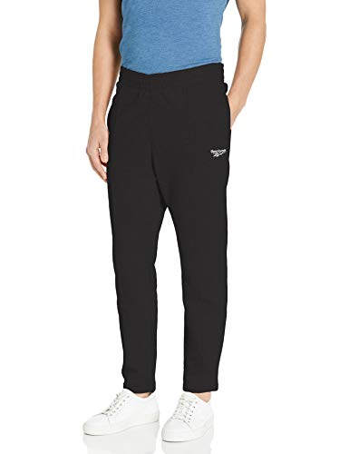 Reebok Men's Classics Vector Sweatpant, Black, XX-Large