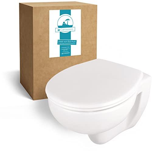 Calmwaters Calmwaters® spülrandloses Hänge-WC Set mit Bild